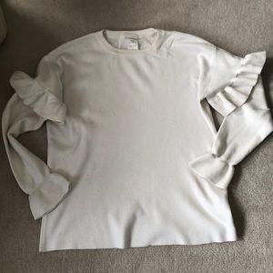 Ruffle Zara sweater!